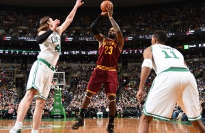LeBron James 41 Points vs. Celtics