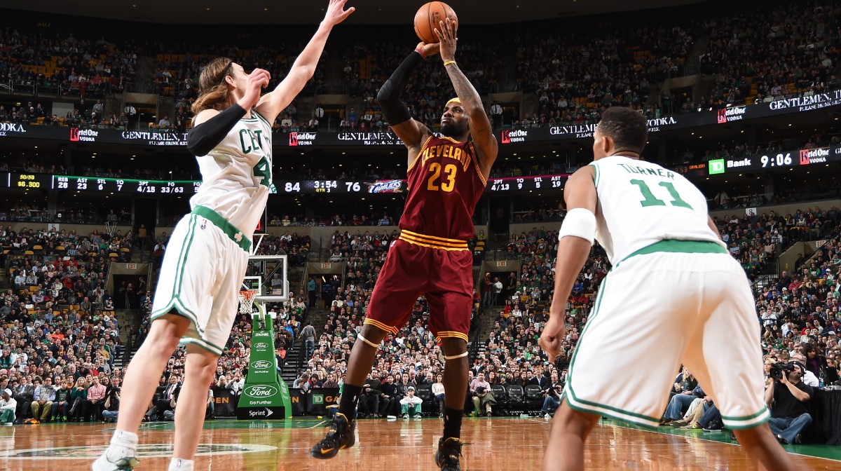 LeBron James 41 Points vs. Celtics