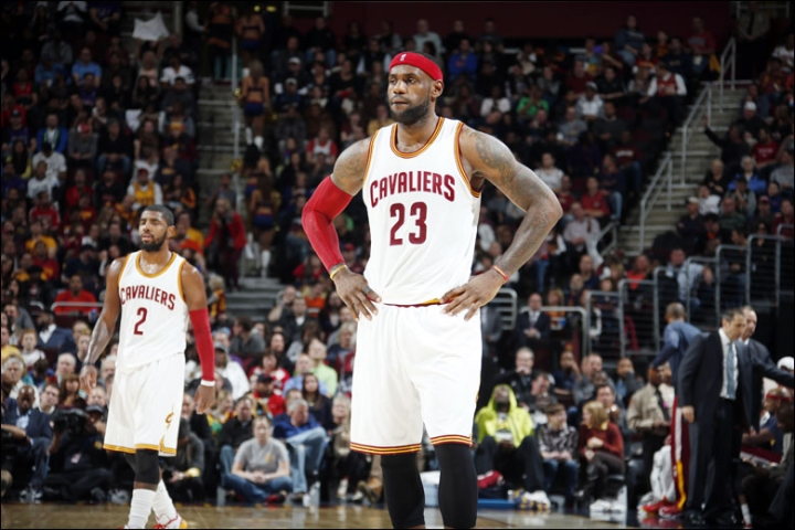 LeBron James new Cleveland Cavaliers