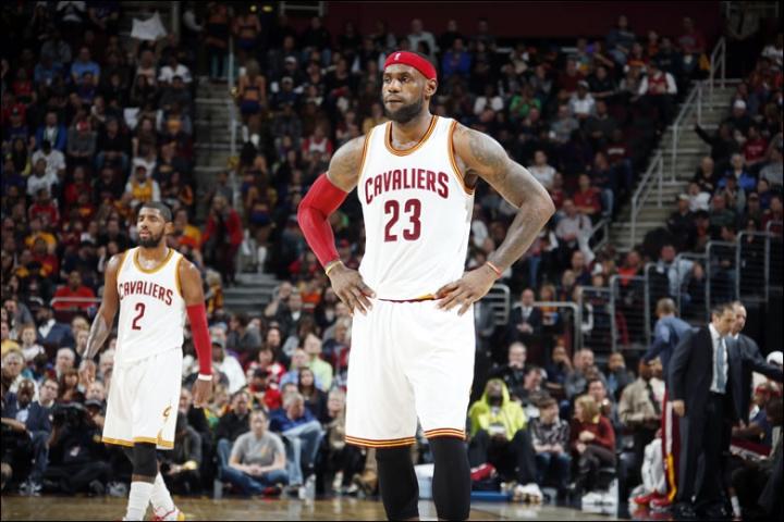 LeBron James new Cleveland Cavaliers