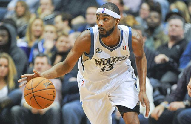 Corey Brewer Minnesota Timberwolves