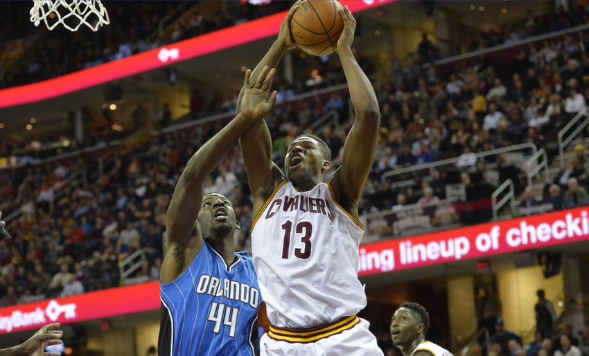 Tristan Thompson Against the Orlando Magic