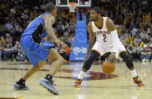Kyrie Irving against the Magic