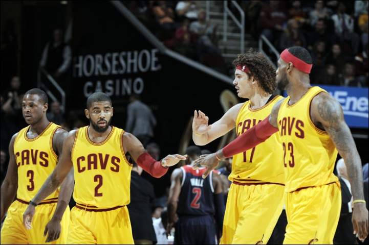 Cleveland Cavaliers starting 5