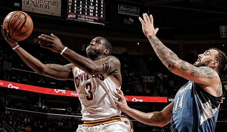 Dion Waiters against the Timberwolves