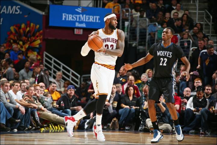 c5d518fef5ec Cavaliers vs. Timberwolves Game Recap  Cavs Dominate Injury-Riddled ...