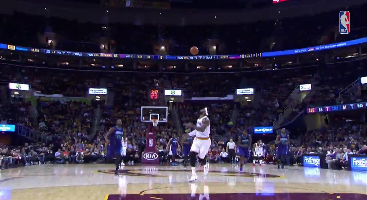 Cleveland Cavaliers touchdown Passes