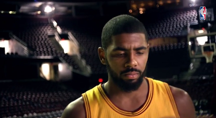 Kyrie Irving in new Christmas Day commercial