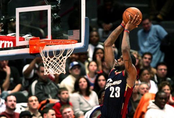 LeBron 50 points Cavs/Knicks