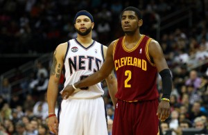 Deron Williams and Kyrie Irving