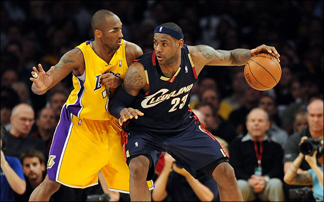 Kobe and LeBron on Christmas Day