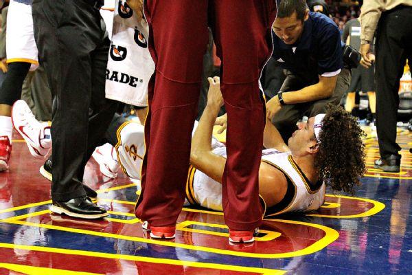 Anderson Varejao Injury