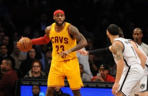 LeBron James against the Nets