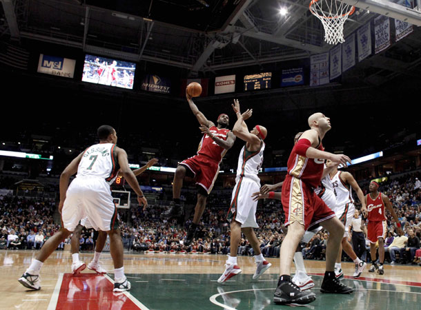 LeBron James 55 points in Milwaukee