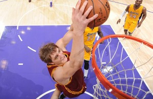 Timofey Mozgov Cleveland Cavaliers