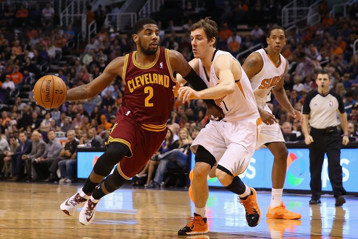 Kyrie Irving against Phoenix Suns