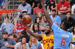 Kyrie Irving against the Los Angeles Clippers