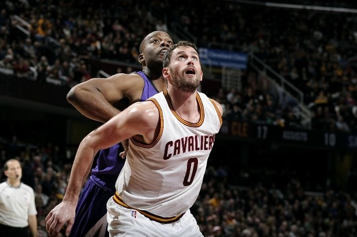 Kevin Love vs. Sacramento Kings on January 30, 2015