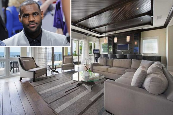 LeBron's Miami Mansion