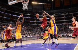 Kyrie Irving vs. Los Angeles Lakers, January 15, 2015
