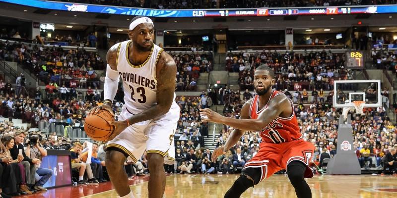LeBron James vs. Chicago Bulls