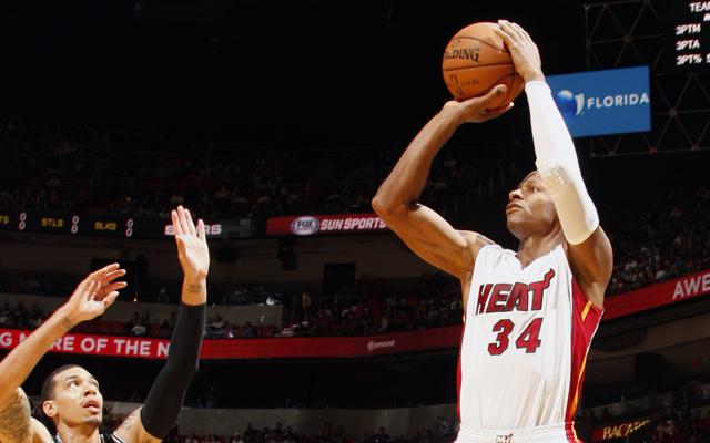 Ray Allen in NBA Finals