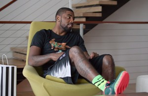 Kyrie Irving in new Foot Locker commercial