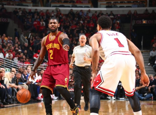 Kyrie Irving and Derrick Rose