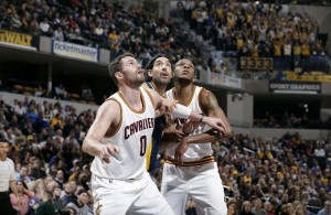 Kevin Love vs. Indiana Pacers on February 27, 2015