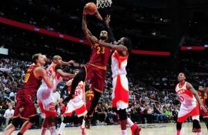 LeBron James vs. Atlanta Hawks, March 6, 2015