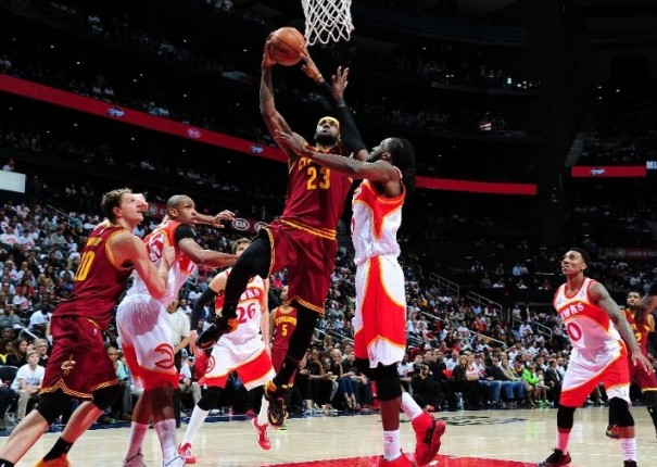 LeBron James vs. Atlanta Hawks, March 6, 2015