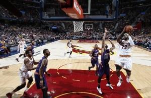 LeBron James vs. Phoenix Suns on March 7, 2015