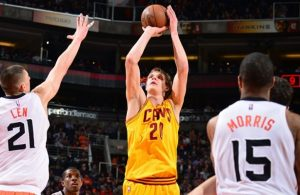 Timofey Mozgov vs. Phoenix Suns on January 13, 2015