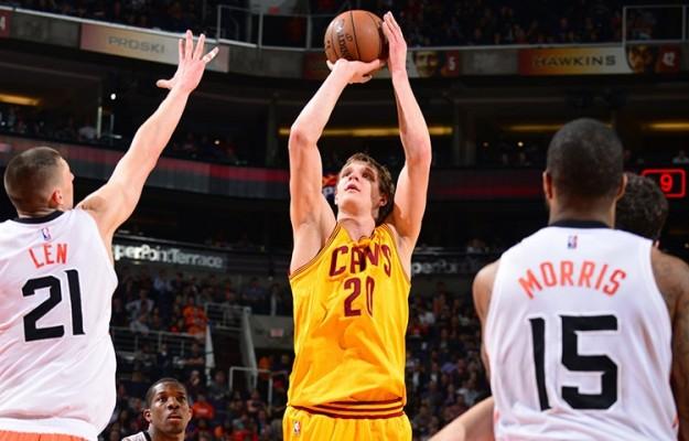 Timofey Mozgov vs. Phoenix Suns on January 13, 2015
