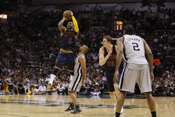 Video: Top 5 Plays from Kyrie Irving's Career Night