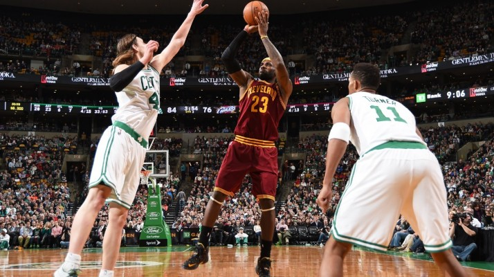 LeBron vs. Celtics