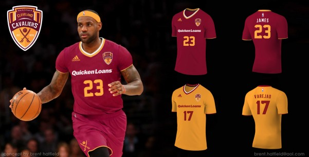 official photos 8086c 5fb5c 5 Cleveland Cavalier Jersey Concepts That Need to Happen ...