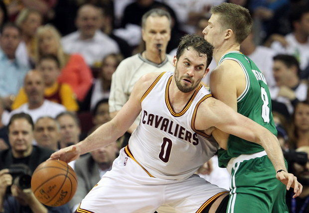 Kevin Love vs. Celtics 2015 NBA Playoffs