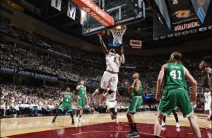 Cleveland Cavaliers vs. Boston Celtics Game Recap: Irving Shines in Playoff Debut