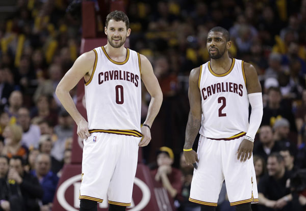 Cavs News: Kyrie Irving and Kevin Love Questionable Against Heat
