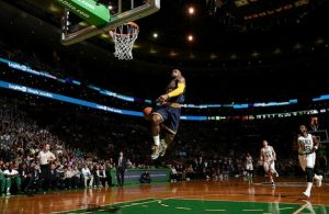 Lebron James vs. Boston Celtics on April 23, 2015