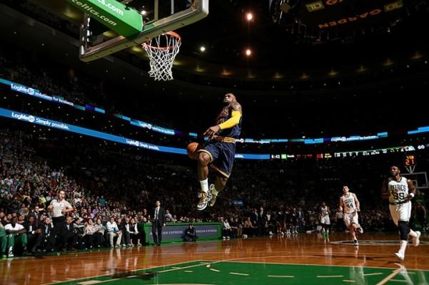 Lebron James vs. Boston Celtics on April 23, 2015