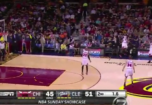 Video: J.R. Smith Hits the Incredible 40-Foot Buzzer Beater