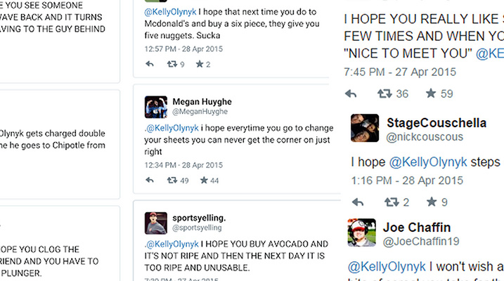 A Collection of Creatively Hateful Tweets to Kelly Olynyk