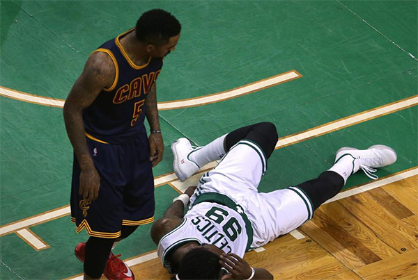 J.R. Smith and Jae Crowder