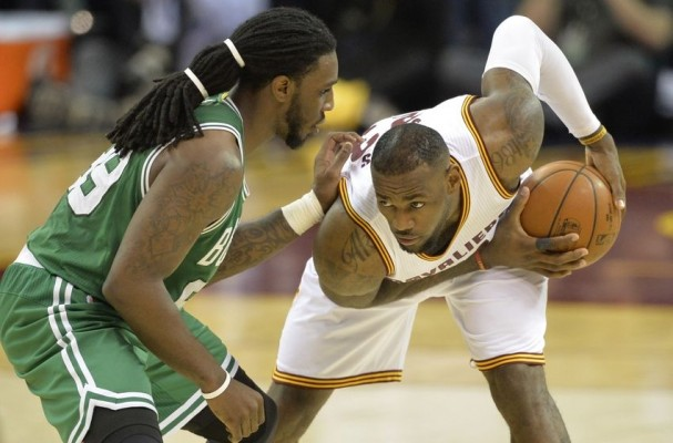 LeBron James vs. Jae Crowder NBA Playoffs