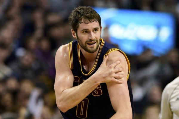 Cavs News: Kevin Love (Shoulder) Out a Minimum of Two Weeks