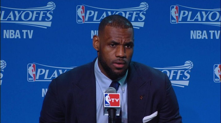 LeBron James Vows to Be More Aggressive Offensively in Game Two