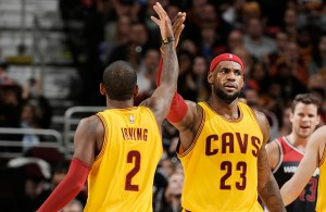 Cavs News: LeBron James and Kyrie Irving Named All-NBA