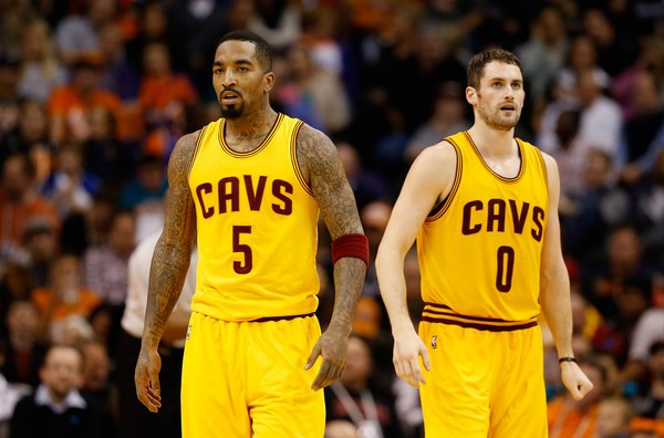Kevin Love & J.R. Smith